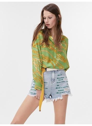 Twist Gömlek Yeşil